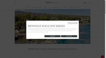BARNES Sainte-Maxime