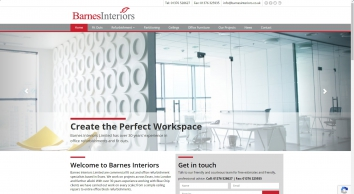 Barnes Interiors Ltd - Commercial Fit Out and Refurbishments