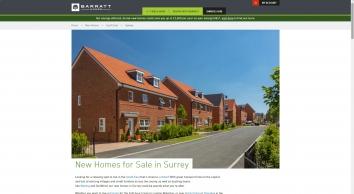 Barratt Homes   Surrey