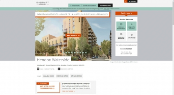 Hendon Waterside: New Homes in Moorhen Drive Off Tyrell Way,West Hendon, LONDON | Barratt Homes
