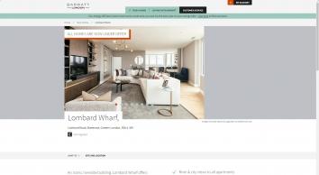 Lombard Wharf: New Homes in Battersea, LONDON | Barratt Homes