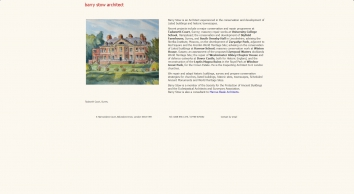 Barry Stow - Historic Buildings Architect