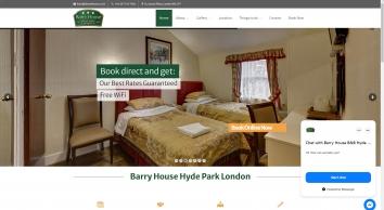 Barry House B & B