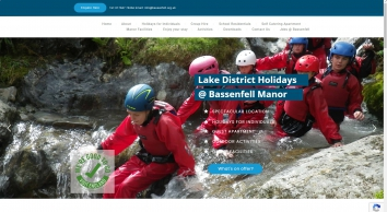 Bassenfell Manor Christian Outdoor Centre - Lake District Cumbria