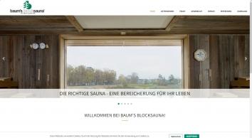 Baum\'s Blocksauna Eschweiler