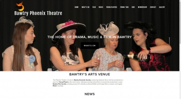Bawtry Phoenix Theatre, Bawtry\'s home of drama, music and film