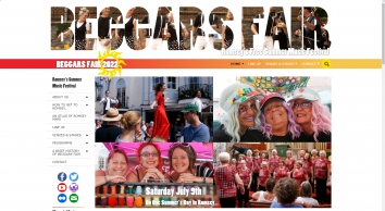Beggars Fair   Saturday 13th July, Romsey, Hampshire