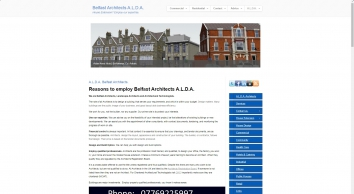 Belfast Architects A.L.D.A.   House Extension? Employ our expertise.