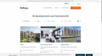 Bellway Homes   New homes for sale in Hammersmith, London