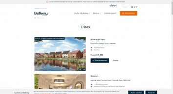 New homes for sale in Barking, Essex from Bellway Homes