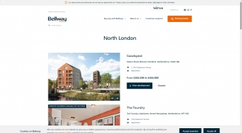 New homes for sale in Chertsey, Surrey from Bellway Homes