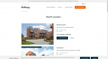 Bellway Homes | New homes for sale in Highgate, London