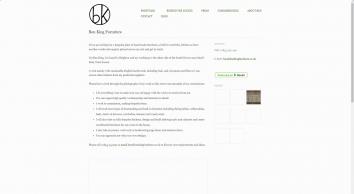 Ben King Bespoke Furniture Maker - Brighton