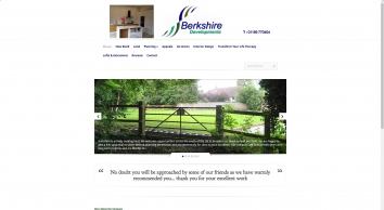 Berkshire Developments | is a well established, innovative, ecologically aware residential development company