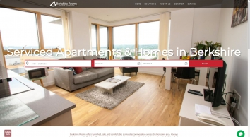 Berkshire Rooms Serviced Accommodation Homepage