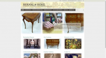 Bernal & Hohl - Restoration & Reproduction Of Period Furniture & accent pieces