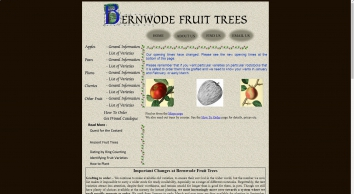 Bernwode Fruit Trees