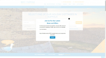 Best of Suffolk: Self Catering Suffolk Holiday Cottages