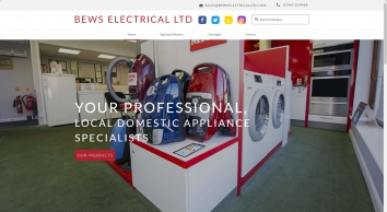 Bews Electrical Ltd - high quality domestic appliances for the Hitchin area