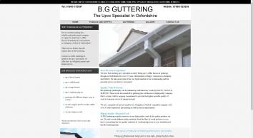 B.G Guttering - The Upvc Specialist In Abingdon, Oxford & Oxfordshire - Guttering, Fascias & Soffit