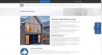 Aluminium Gable Windows Hailsham | Aluminium Windows Crawley
