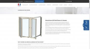 Aluminium Bi-Fold Doors Hailsham & Crawley | Britannic Bi-Folds