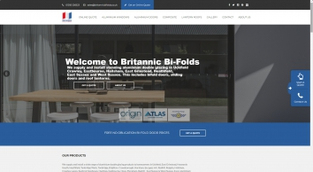 Aluminium Bi-Fold Doors Hailsham & Crawley | Britannic Bi-Folds Sussex
