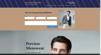 Preview Menswear: quality clothing, large sizes and dress hire in Surrey