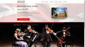 British Isles Music Festival | BIMF