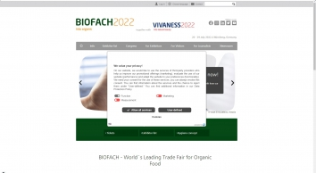BIOFACH | World´s Leading Trade Fair for Organic Food