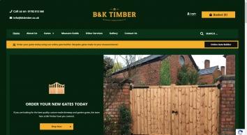 BK Timber - Bespoke Wooden Gates
