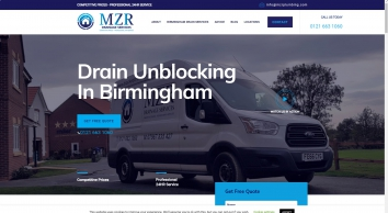 Blocked Drain Birmingham | Drain Cleaning | 24 Hour Emergency Service