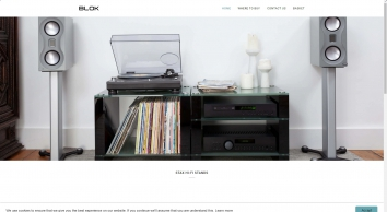 BLOK Hi-Fi Stands