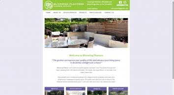 Blooming Planters Garden Design