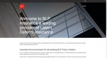 BLP Building Defects Insurance