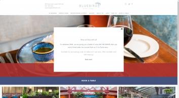 Bluebird | Modern European Restaurant In Chelsea | D&D London