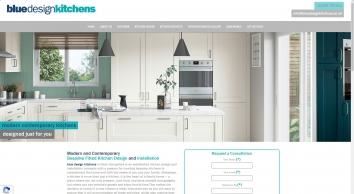 Blue Design Kitchens