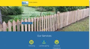 Fencing in Basingstoke   Bob Berry - 01256 358940