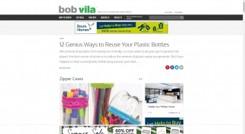 How To Reuse Plastic Bottles At Home - Things To Do With Plastic Bottles - Bob Vila