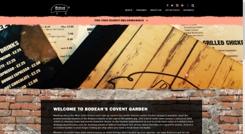 Bodean\'s Covent Garden - Our Newest BBQ & Smokehouse