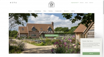 Border Oak Welcome Page
