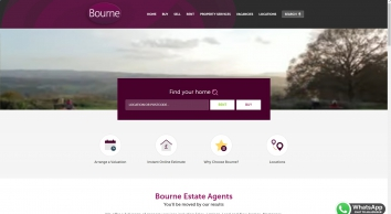 Bourne Estate Agents covering Hampshire & Surrey