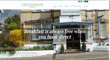 Tregonholme Hotel Bournemouth, located in centre of bournemouth. Offering accomodation, bed and breakfast and a bigger welcome