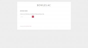 Bowles Outdoor Centre/The Bowles Rocks Trust/Bowles Ski Centre