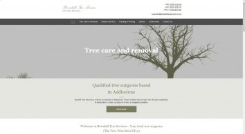 Bowskill Tree Services (The Tree Wise Men KT15) in Surrey