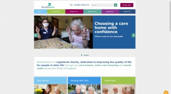 Care Homes Caring For Life | Brendoncare Hampshire