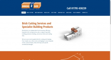 Bricks 2 Size - brick cutting Kent