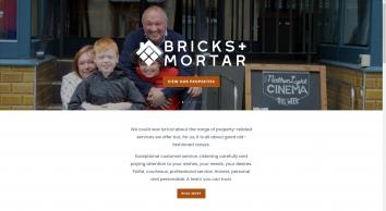 Bricks + Mortar