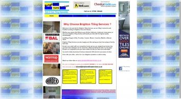 Brighton Tiling Services | Tiler Brighton Hove Sussex