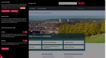 Bristol City Council home page - bristol.gov.uk